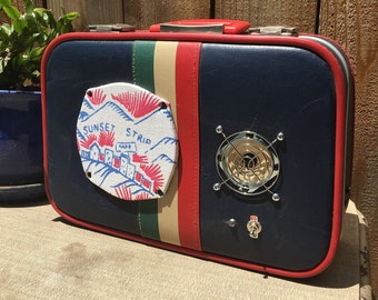 Sunny the portable bluetooth suitcase speaker