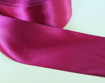 Burgundy Red wide ribbon
