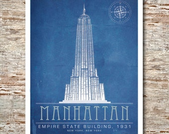 Manhattan- Empire State Building (The Architect's Series)