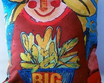 cushion cover -  art cushion cover - Colorful cushion cover - Original Art Cushion - quality  cushion cover - DREAM BIG