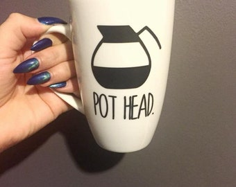 POT HEAD Coffee Mug
