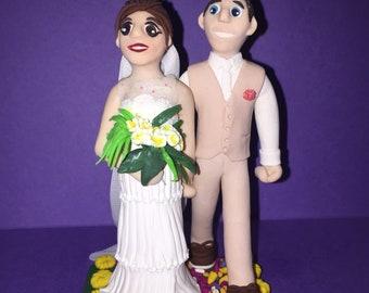 Wedding cake topper (2 figurines)