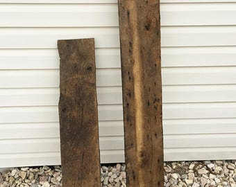 4.5 SF Reclaimed Barn Wood Extra Pieces
