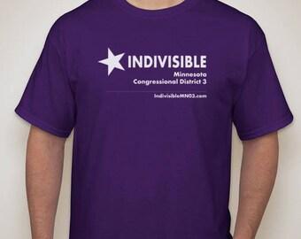 Men's purple Indivisible tee