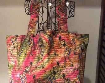 AFRICAN Tote  Extra Large