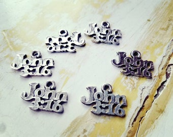 John 316 charms pewter lead free cadmium free pewter charms silver color lot of 12 25 50 pieces add stainless steel 5mm jump rings