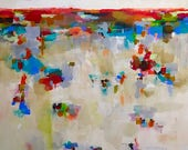 Abstract Colorful Landsca...