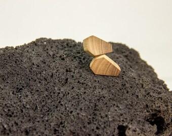 Wooden earrings / Handmade wooden earrings / Olive wood earrings