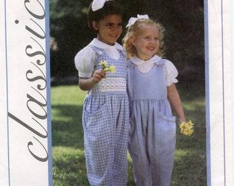 Creative Needle Classics - Lauren's Pocket Pants - Smocked or Unsmocked - sizes 5, 6, 7 - NIP uncut pattern - OOP