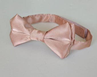Rose Gold Bowtie- Infant, Toddler, Boy  2 weeks before shipping