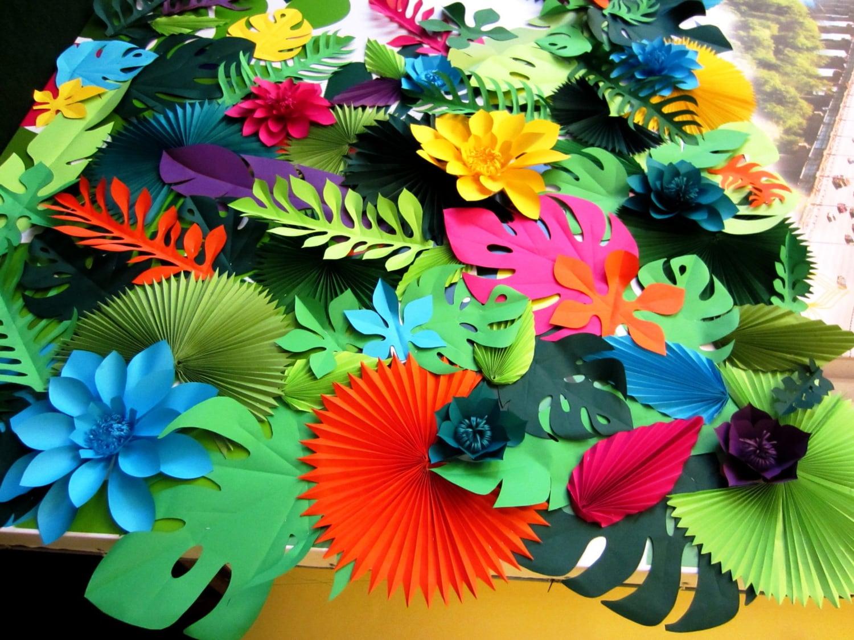 tropical party decorations hawaiian party decor hawaiian. Black Bedroom Furniture Sets. Home Design Ideas