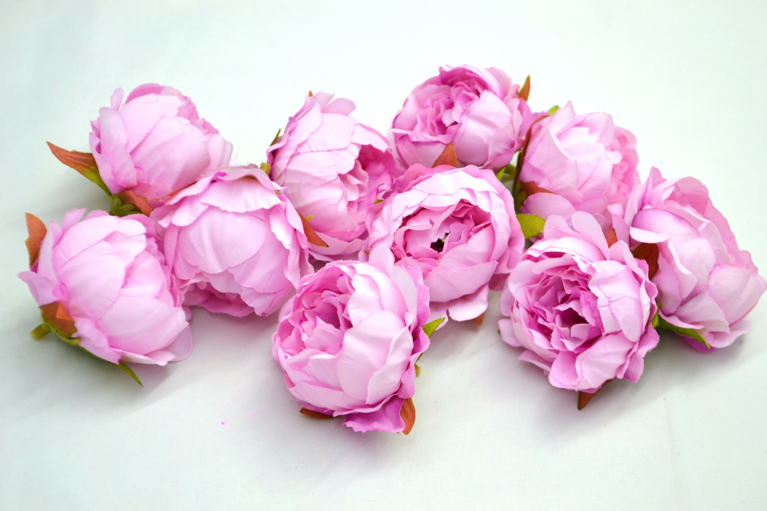 Pink Peony Artificial Flower Pink Artificial Flowers Wedding Peony