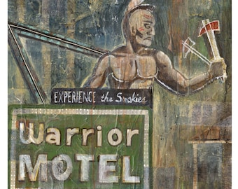 warrior Motel sign