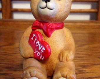 Vintage Schmid Teddy Bear Figurine