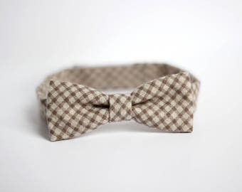 boys bow tie, kids bow tie, toddler bow tie, gingham bow tie, bow tie for toddlers