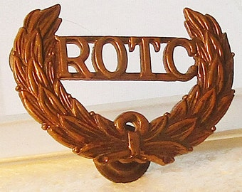 WWII ROTC Hat Badge