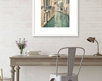 Venice Italy Wall Art, Italy Print, Europe Decor, Canal, Romantic, Doors and Windows, Vertical Wall Art