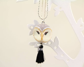 Necklace OWL barn