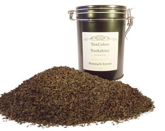 Black Loose Leaf Tea Nonsuch Single Estate 100g Gift Caddy FAST & FREE UK Post