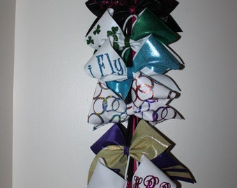 Cheer bow holder