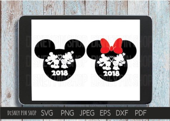 Disney SVG Mickey Minnie Love 2018 T-shirt Minnie Mouse Mickey Mouse ...