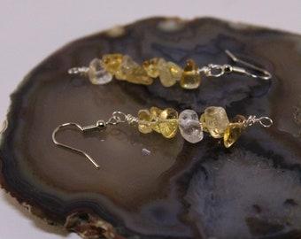 Citrine Dangle Earrings