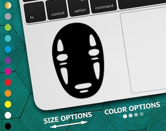 no-face vinyl, spirited away decal, spirited away anime, no-face decal, spirited away, studio ghibli decal, no face spirited, spiritedaway
