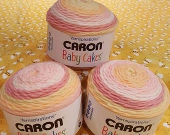 Caron Baby Cakes Dreamy Rose