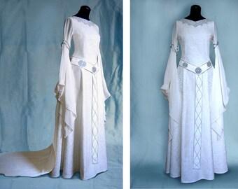 Elf dress wedding dress Eowyn ELADRIEL Elves