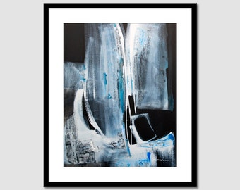 Abstract painting Printable Art  Black and white, Black and white, Acrylique Wall Art Prints,  Modern Art Wall Decor, INSTANT DOWNLOAD.