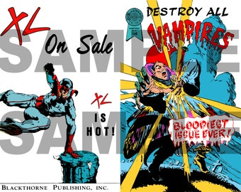 Lost Boys - Destroy All Vampires Comic Replica