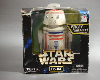 Star Wars R5-D4 Large 6 inch Action Figure from the Power of the Force Series by Kenner