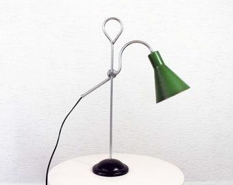 Industrial style gooseneck lamp