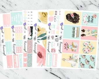 REVEALED March Mystery Sticker Kit // Fits Erin Condren Vertical Life Planner, Happy Planner, etc
