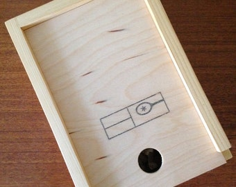 Reclaimed Wood Gift Gox for Bottle Openers - Large