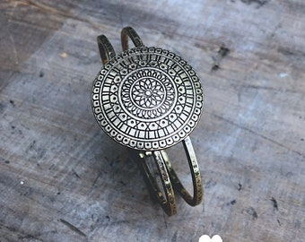 Gold Cuff - DIY Jewelry