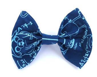 Adventure Time Algebraic Fabric Clip-on Hair Bow