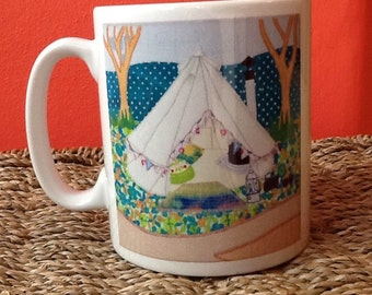 Happy Glamping Mug