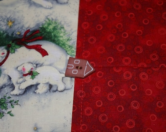 Christmas Polar Bear Table Runner