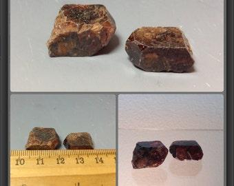 Zircon from Tanzania - 2 stones