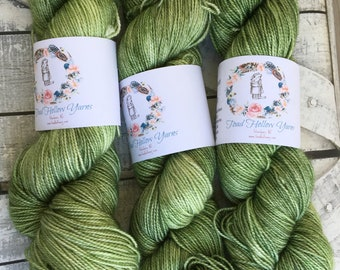 Silky Toad Dyed Yarn