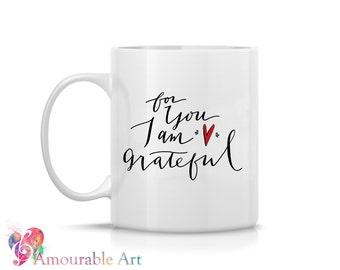 Coffee Mug, Ceramic Mug, Valentine's Day,  Mug, Coffe Mug  Unique Coffee Mug, 11oz or 15oz Watercolor Art Print Mug Gift, Two-Sided Print