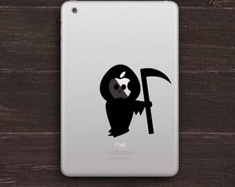 Grim Reaper Vinyl iPad Decal BAS-0198