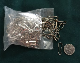 "Bag of Lanyard Clips - 1"" long, Approximately 150"