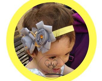 Baby Headband | Christmas Vintage Headband | Silk Headband | Newborn Headband | Baby Photo Prop | Couture Headband