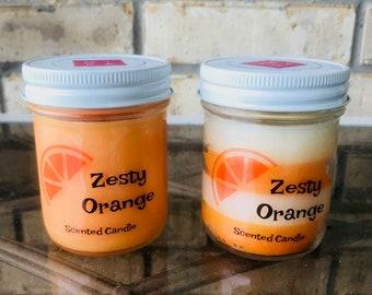 Zesty Orange Candle