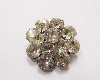 On Sale WEISS Sparkling  Rhinestone Pin Item K # 3303