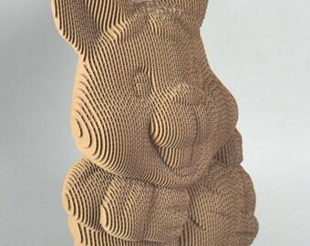 Rabit Model - - DIY Cardboard Craft