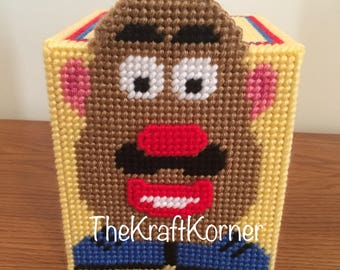Mr Potato Head Tissue Box Cover