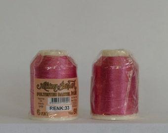 oya lace crochet polyester no50 thread color 33 Altun Basak for crochet needle no 21 / 0,55 - 20 gr